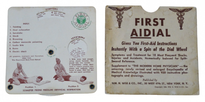 FIRST AIDIAL GUIDE 1942